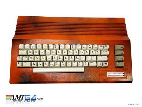 Burnt Red Commodore C64C MKII