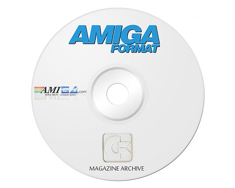 AMIGA FORMAT PDF Magazine Archive on DVD-ROM