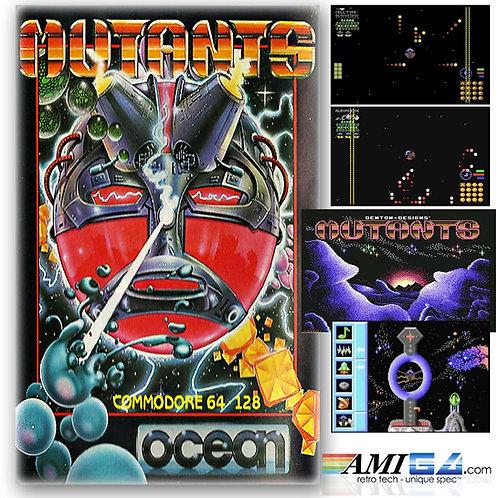 Mutants for C64 (Cassette) by Ocean