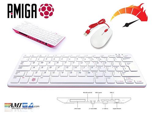 Raspberry Pi 400 PiMIGA setup with 32GB SD card