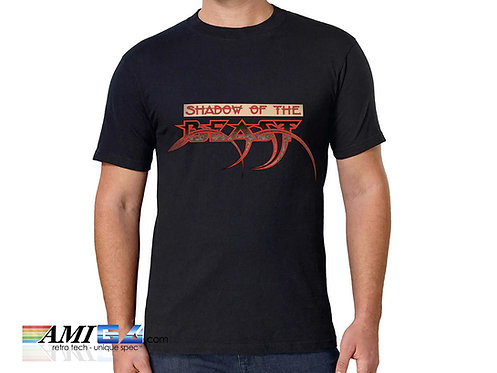 Shadow of the Beast Logo T-Shirt Amiga Game