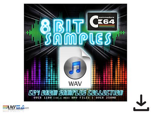 8bit Commodore 64 SID wav samples