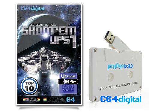 C64Digital USB for Commodore 64 Shoot'em Ups