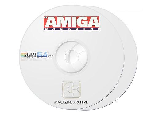 CU AMIGA PDF Magazine Archive on 2 x DVD-ROM