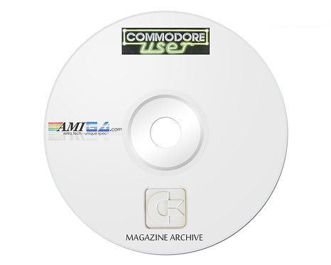 Commodore USER PDF Magazine Archive on DVD-ROM