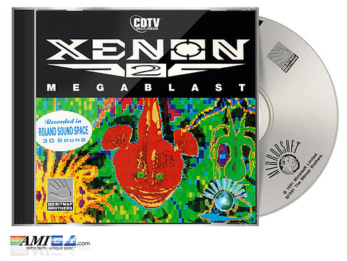 Xenon 2 CDTV in Jewel case with CD