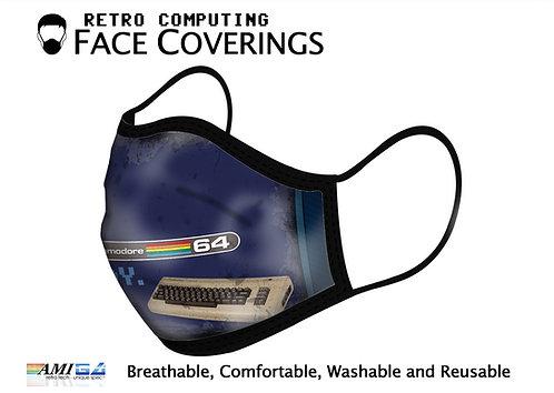 Designer 'READY' Commodore 64 Logo Face Mask