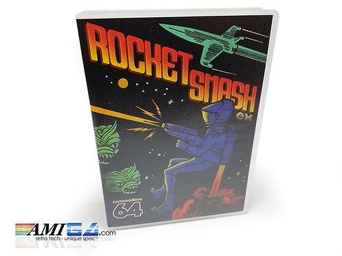 Rocket Smash EX Game box Commodore 64