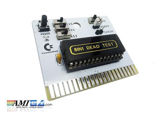 8 in 1 C64 Dead Test Diagnostics Cart cartridge
