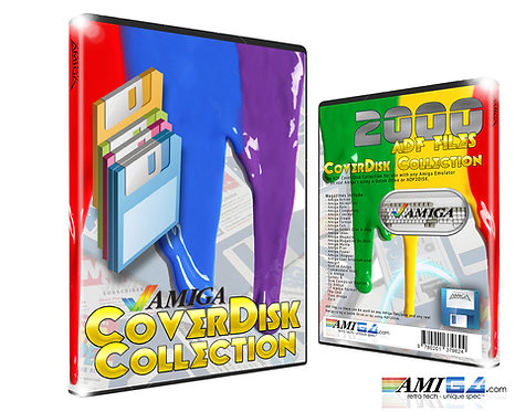 Amiga Coverdisk ADF Collection on DVD