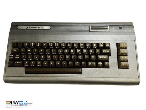 Gun Metal Commodore 64 Computer