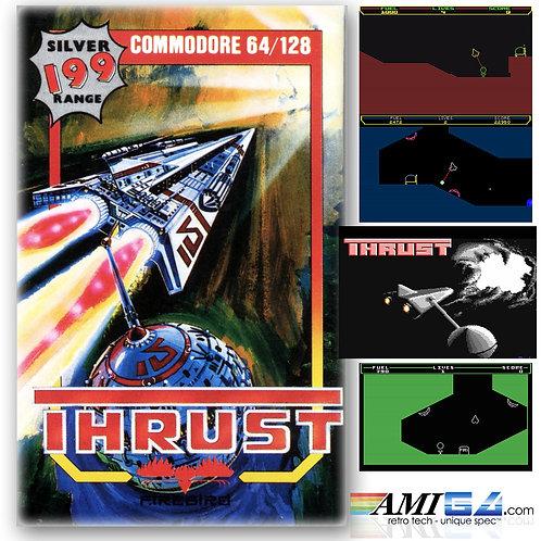 Thrust for C64 (Cassette) by Firebird