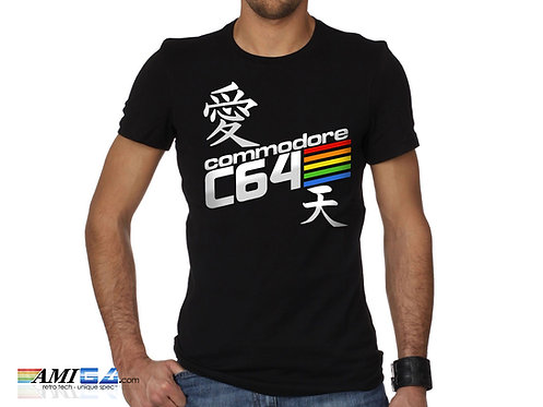 Japanese style Commodore 64 t-shirt