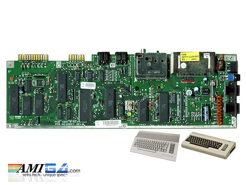 Commodore c64c mainboard motherboard