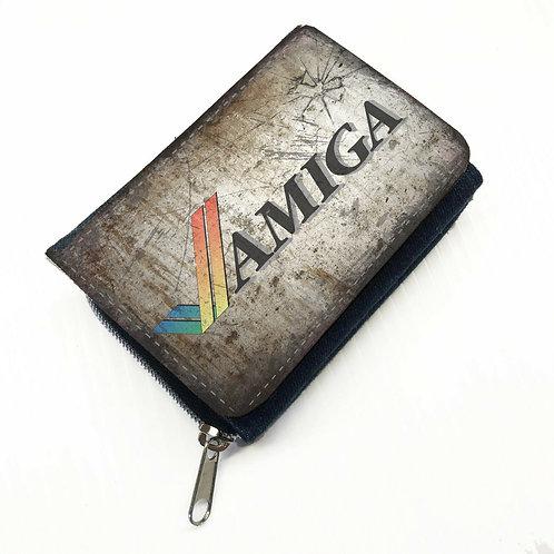 Retro Amiga Branded Canvas Wallet