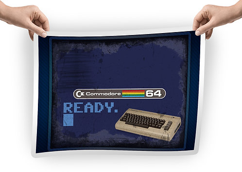 Commodore Dust Cover with READY prompt