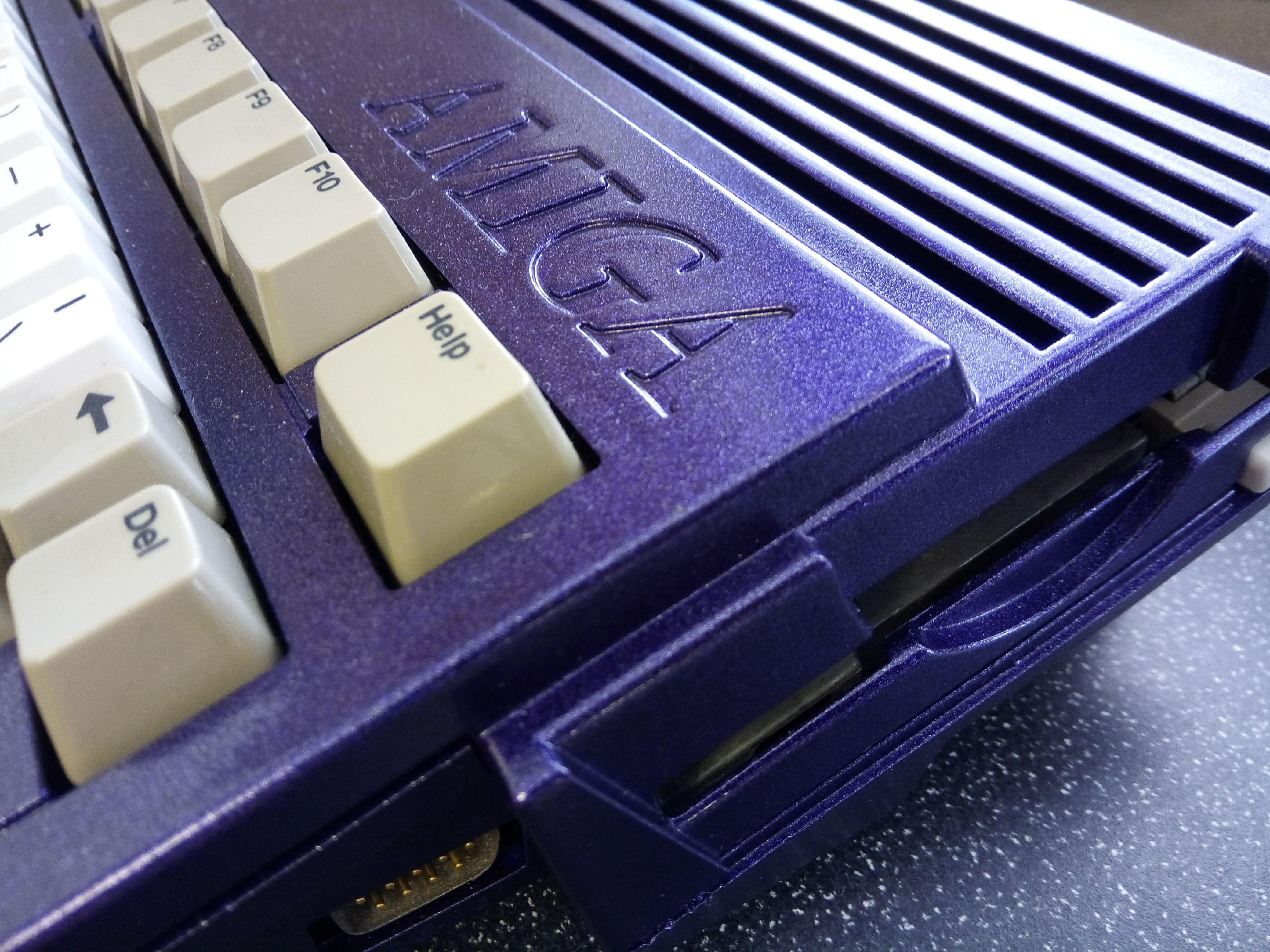 Poppin Purple Amiga 600