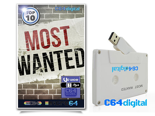 C64Digital USB for Commodore 64 MOST WANTED