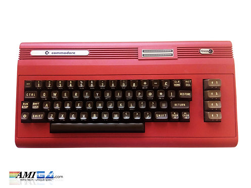 Red Devil Custom Commodore 64 Keyboard