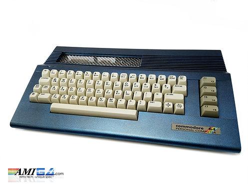 Metallic Denim Commodore 64 C64C MKII