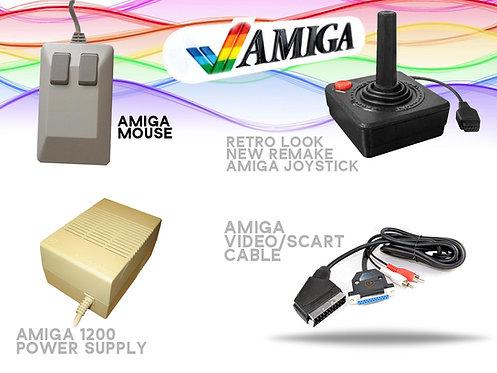 Amiga Mouse Joystick PSU & Scart Cable