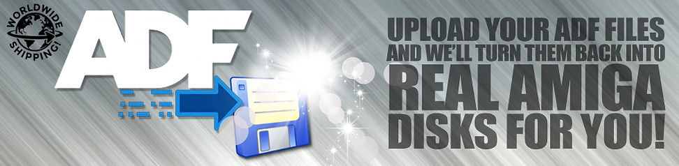 ADF 2 AMIGA  DISK banner logo