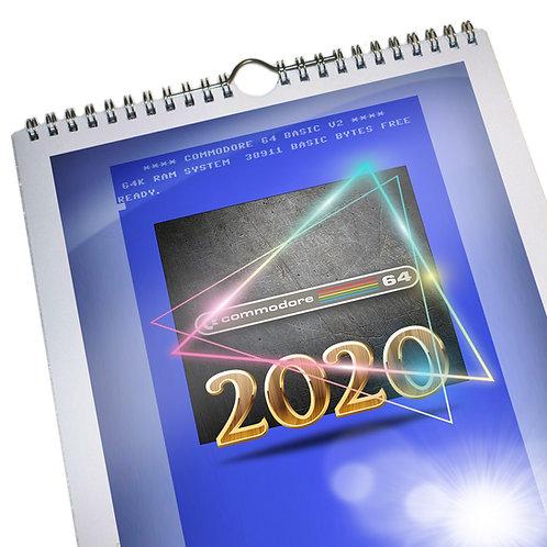 2020 Commodore 64 Calendar
