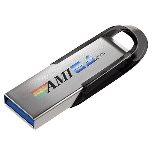 USB Flashdrive with the complete AMINET collection of software