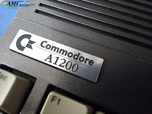 Gun-Metal Unique Amiga Badge