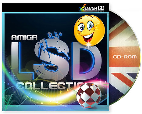 LSD & 17Bit Software Compendium Collection AMIGA CD