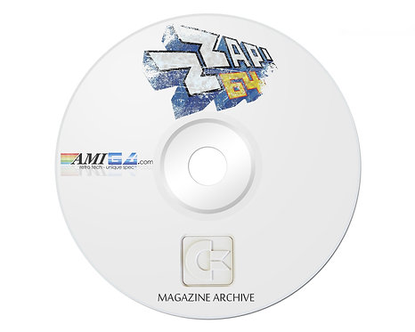 ZZAP! 64 PDF Magazine Archive on DVD-ROM