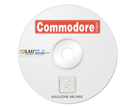 Commodore FORMAT PDF Magazine Archive on DVD-ROM