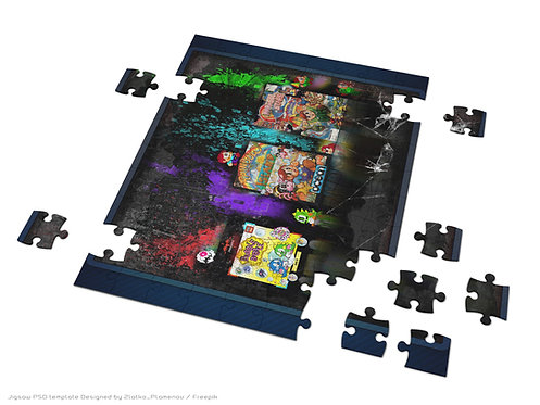 Parasol Stars, Rainbow Island, Bubble Bobble Jigsaw Puzzle
