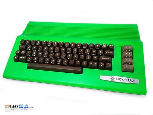 Biohazard Edition - Commodore 64C on Angle