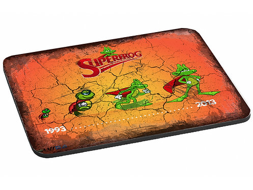Super Frog Superfrog Mouse Mat - Inspired by classic Amiga game