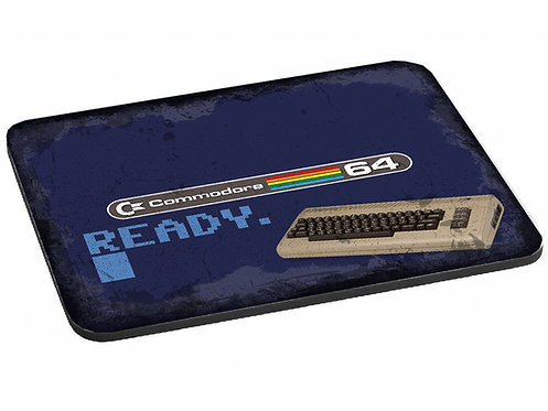 Eye-Catching Commodore Mouse mat with Commodore 64 Logo
