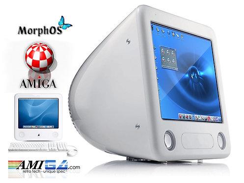 Apple eMac running Amiga MorphOS