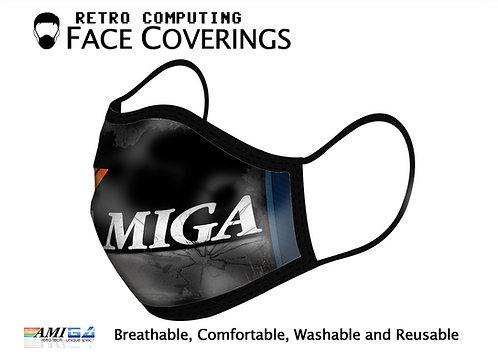 Designer Printed AMIGA Logo Face Mask
