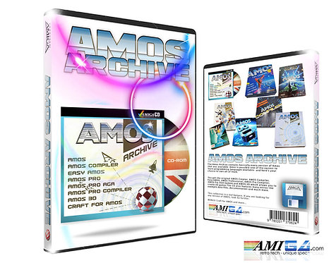 The Complete AMOS Collection for AMIGA in DVD packaging