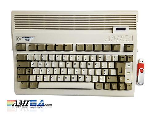 Amiga 600 with gotek OLED Display