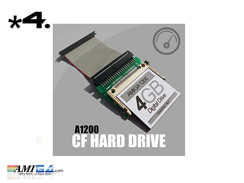 Amiga 1200 Compact Flash CF Card Hard Drive