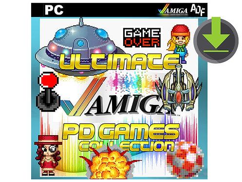 1600 Classic Amiga PD Games ADF Download