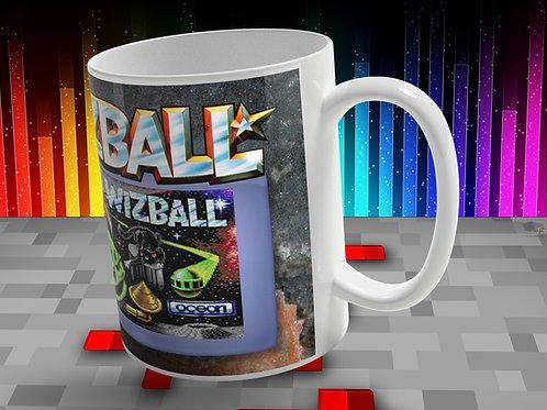 Classic Retro Video Game WIZBALL Printed Mug