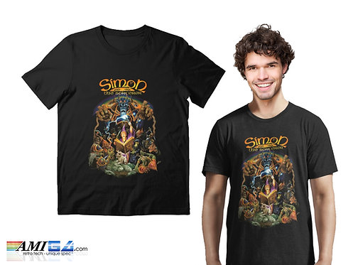 Classic Point & Click Adventure Game - Simon the Sorcerer T-Shirt