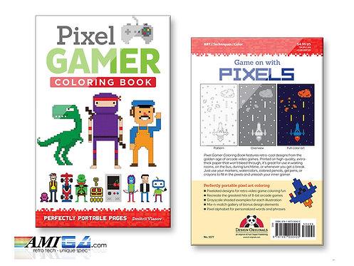Pixel Gamer : Coloring Book