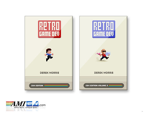 Retro Game Dev: C64 Edition Volumes 1 & 2