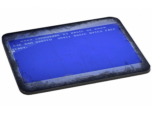 Commodore 64 Blue Screen with Read Prompt Mouse Mat