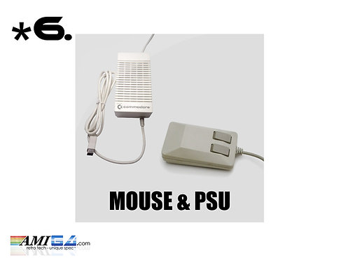 Amiga Accessories  Mouse Joystick PSU & Scart Cable