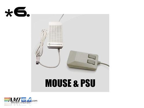 Amiga Accessories  Mouse Joystick PSU & Scart Cable