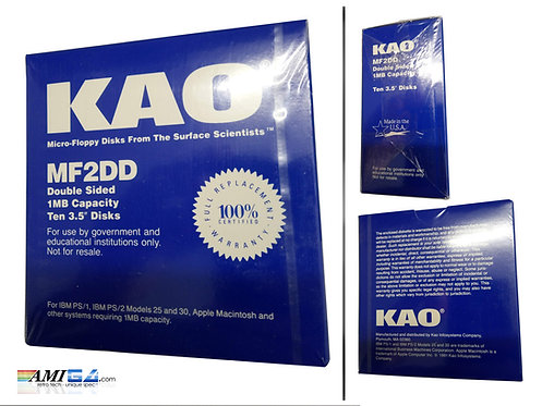 "KAO DSDD 3.5"" Floppy Disks Box of 10"